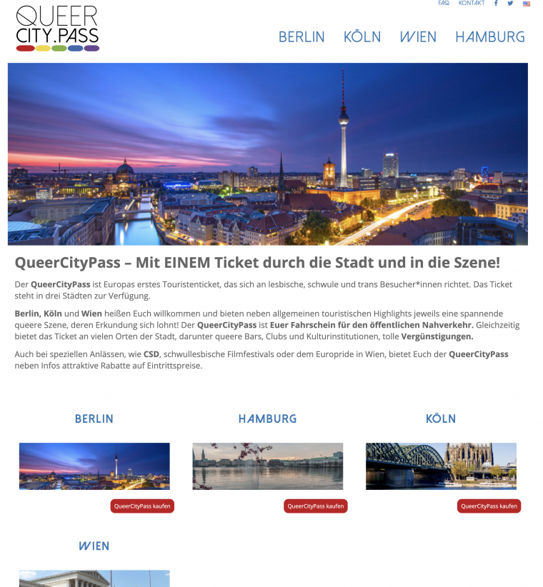 Easy und Queer City Pass