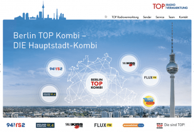 Top Radio Marketing interner Anwendungen